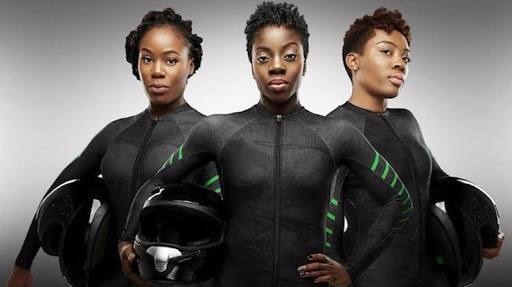 Nigeria Bobsled team in Pyeongchang 2018