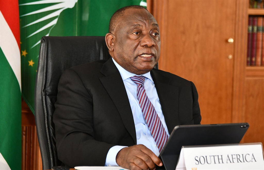President Cyril Ramaphosa said in his opening speech at the Sandton Convention Centre on Wednesday that R172 billion of the promised amount had already been spent. This is more than 25% of what was promised in 2018 and last year. Picture: GCIS