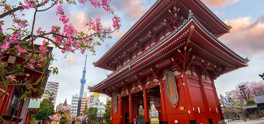 An escorted six-day tour through Tokyo and Kyoto.