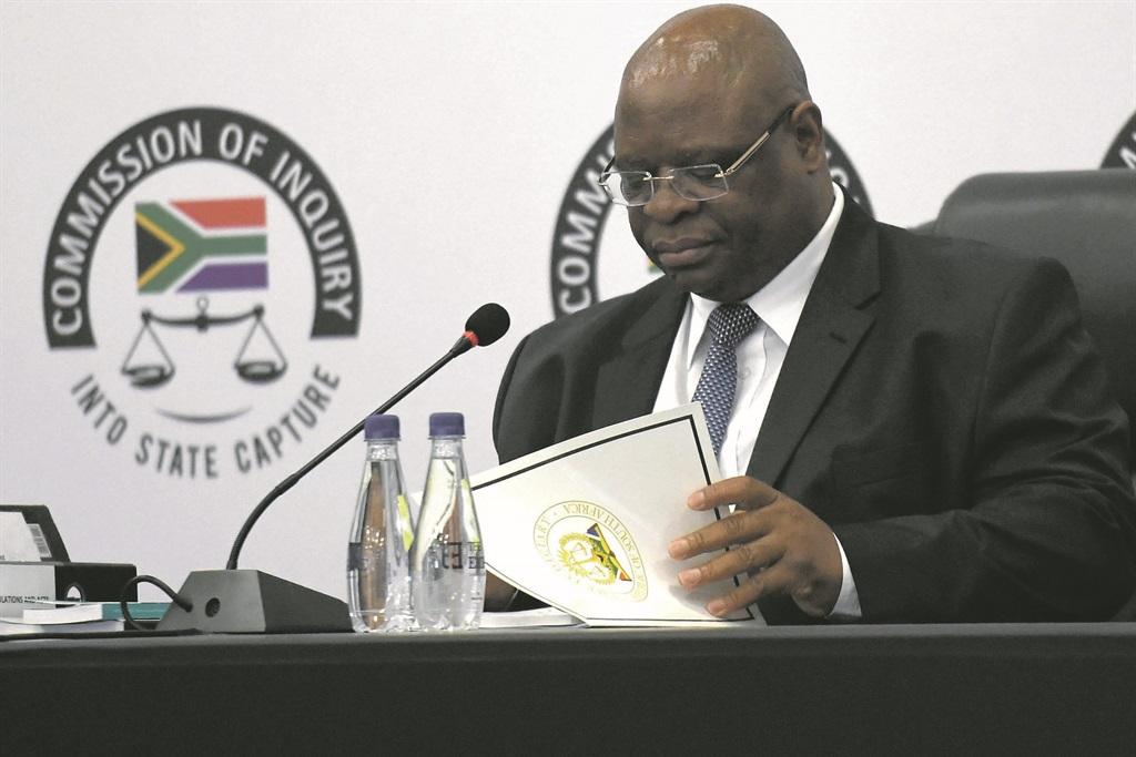 Deputy Chief Justice Raymond Zondo. (Deaan Vivier, Netwerk24)