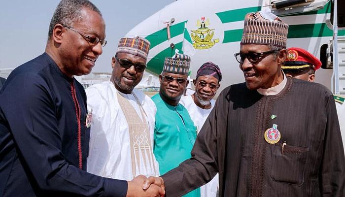 Buhari returns from Jordan