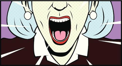 anger management, screaming parents
