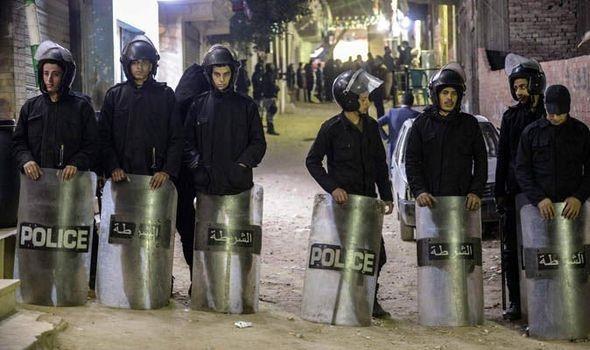 egyptian police