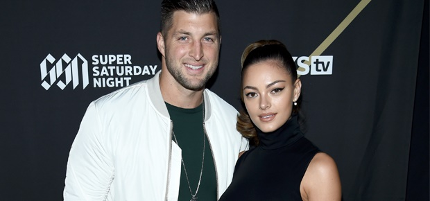 Tim Tebow, Demi-Leigh Nel-Peters (Photo: Getty Images)