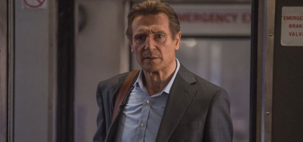 Liam Neeson in The Commuter. (Times Media Films)