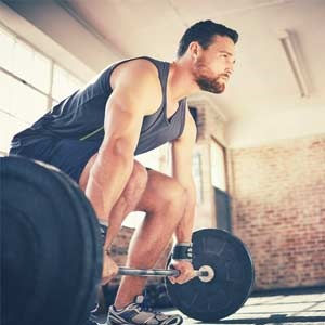 Protect your back when you do a deadlift.