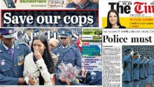NEWSPAPERS: fallen SAPS officers remembered, Zuma 'swarmed' at reed dance