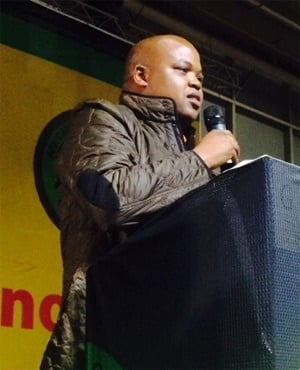 ANC Youth League president Collen Maine (Amanda Khoza, News24)