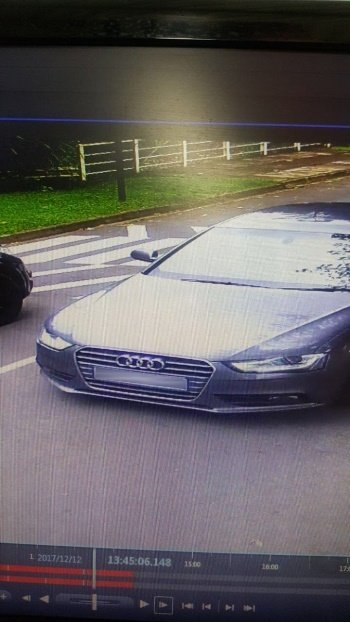 The charcoal Audi A4 is thought to be linked to two house breakings in the Pietermaritzburg area on Tuesday.
