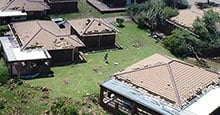 WATCH: Drone footage shows Vaal tornado aftermath