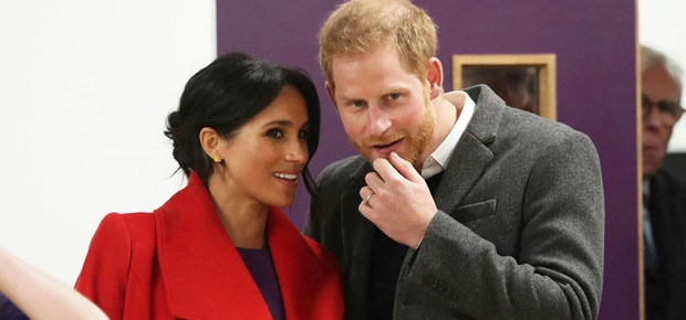 Meghan and Prince Harry. (Photo: AP)