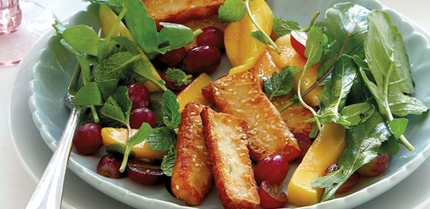 recipe, salad, fruit