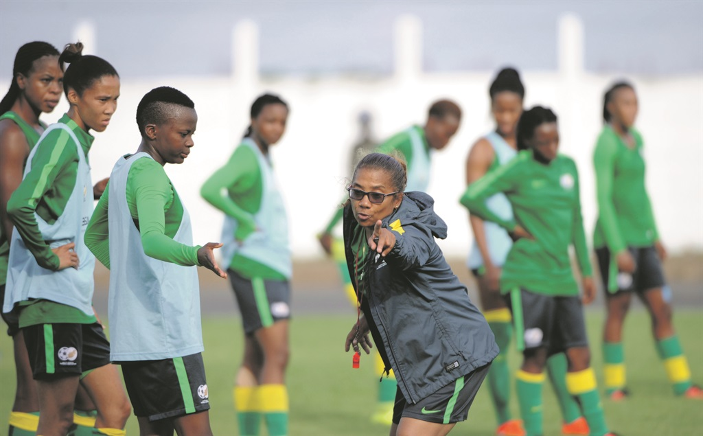 Banyana Banyana's Desiree Ellis says her team is ready to take on Africa's best. Picture: Sydney Mahlangu / BackpagePix
