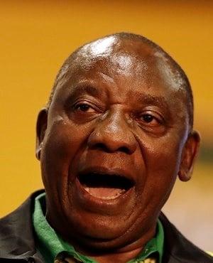 ANC leader Cyril Ramaphosa. (Themba Hadebe, AP)