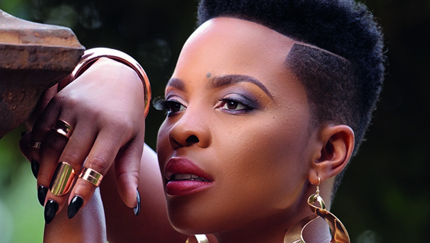 Behind The Scenes With Our January Cover Star Masechaba Ndlovu