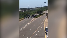 WATCH | Wife, colleagues pay tribute to metro cop killed by taxi