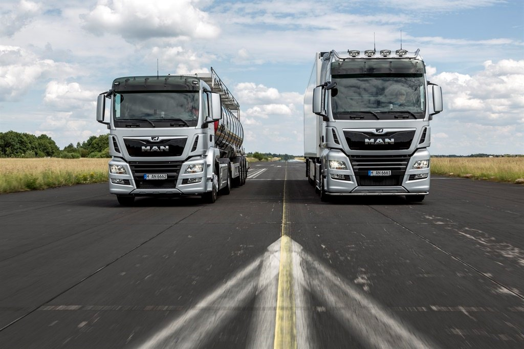 The new MAN TGX and TGS receive newly designed, dy