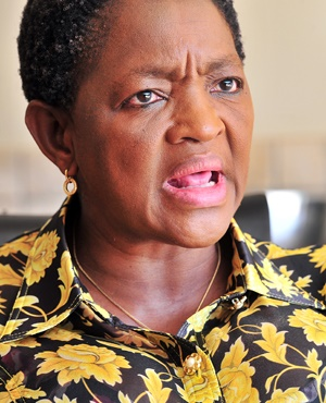 Social Development Minister Bathabile Dlamini. (Leon Sadiki, Gallo Images, City Press)