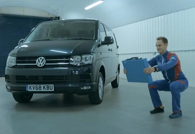 VW mobile gym