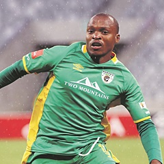 LETHAL:  Gift Motupa will lead the Baroka attack against Kaizer Chiefs. (Chris Ricco, BackpagePix)
