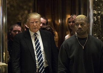 Kanye West reveals he was ill with Covid-19 and is now focused on winning the presidential race