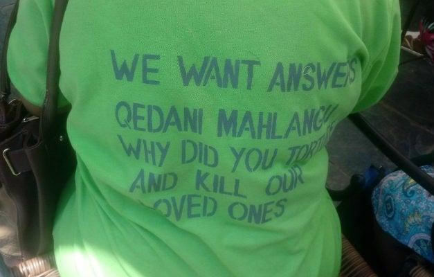 Family members of the Life Esidimeni victims demand answers.