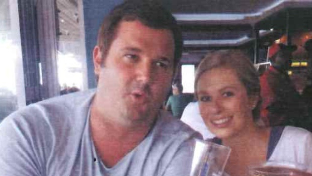 Jan Adriaan Venter and Rozanne Vosloo. This photograph was printed in Venter's funeral pamphlet.