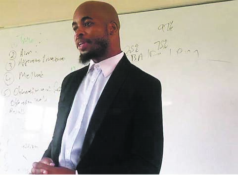 Teacher Lungile Jamani left for China
