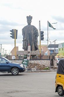 Statue of Oba Agege