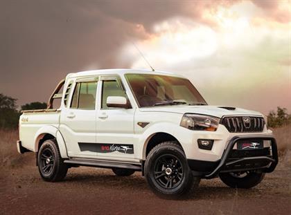 mahindra launches sa built  karoo edition pik  wheels