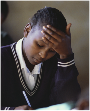 A matric pupil (File, Gallo images/Getty images)