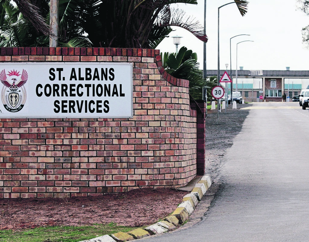St Albans prison in the Eastern Cape. (Die Son)