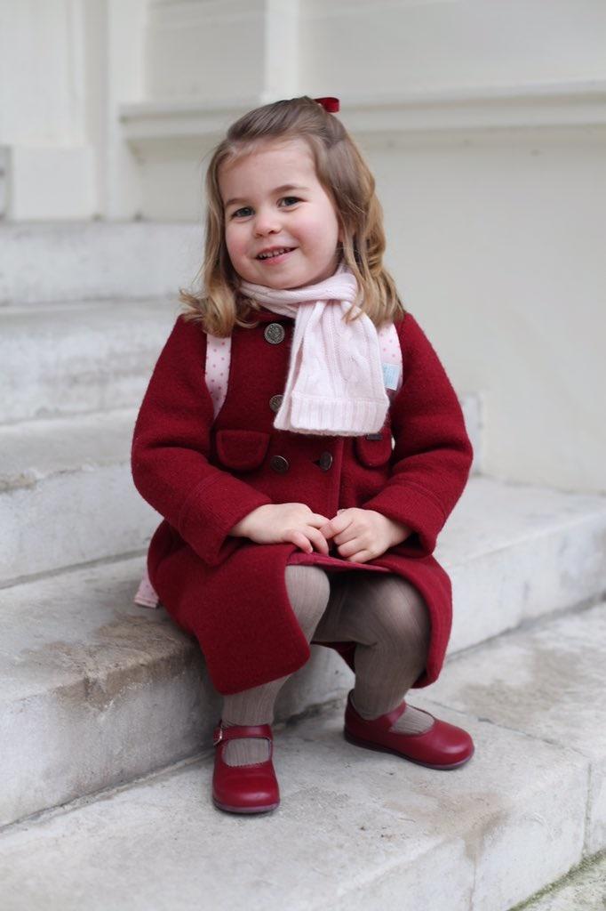 Prinses Charlotte. Foto: Kensington-paleis
