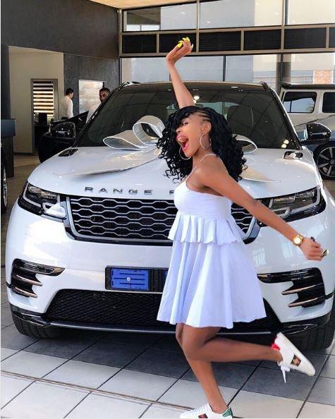 Pics Thembi Seete S Sexy New Ride Daily Sun