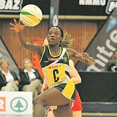 HANDS ON:  Spar Proteas captain Bongiwe Msomi has her work cut out for her. (Werner Hills).