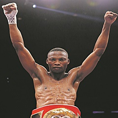 FAVOURITE:  Zolani Tete is tipped to win the male boxer of the year award at this year's BSA Awards. (Dave Thompson, Getty Images).
