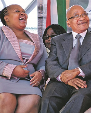 President Jacob Zuma and his estranged wife Nompumelelo Ntuli-Zuma, who is facing attempted murder charges related to a case involving an alleged plot to poison Zuma. Numerous attempts have been made on the president's life, Gayton McKenzie claims in his new book. Picture: Franco Megannon/ Gallo images