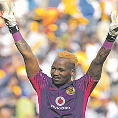 OUT OF CONTRACT: Brilliant Khuzwayo is rumoured to have signed with Pirates. (Frikkie Kapp, BackpagePix).