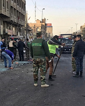 Fresh protest, gunfire in Baghdad