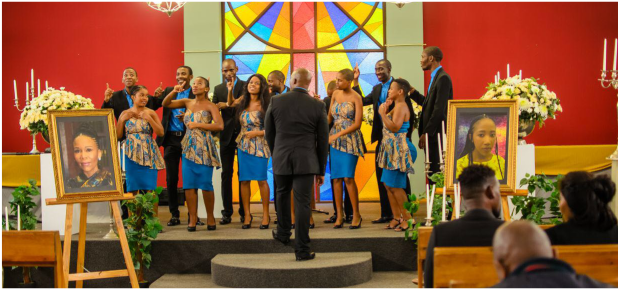 Pics Behind The Scenes Of Manzuza And Smangeles Funeral On Uzalo
