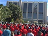 Fawu marches over Oceana Hout Bay factory closure