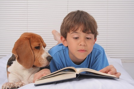 How dogs could make children better readers