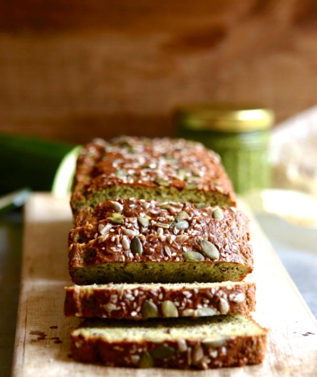 gluten free and grain-free zucchini bread
