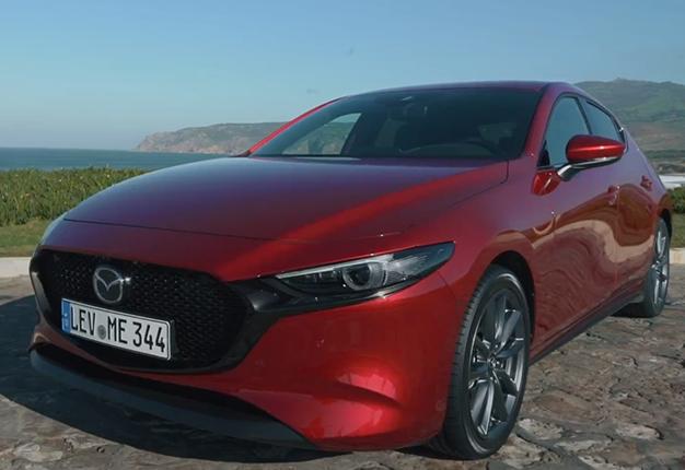 Mazda3 I Sport >> WATCH: A look at the fourth-generation SA-bound Mazda3 ...