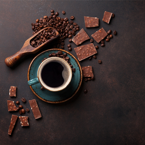 Caffeine is found in a variety of foods and beverages.