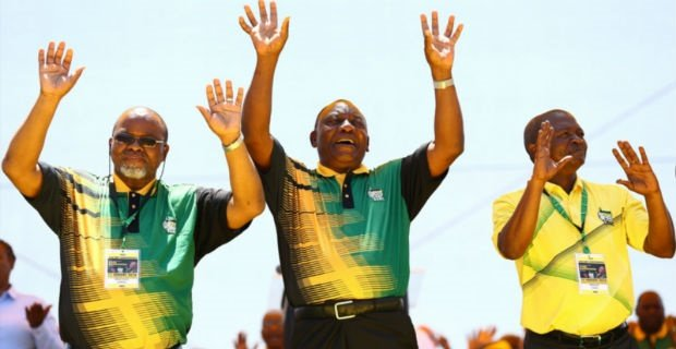 ANC leaders. Picture: Gallo Images