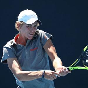 Philip Henning (Photo courtesy of Australian Open)