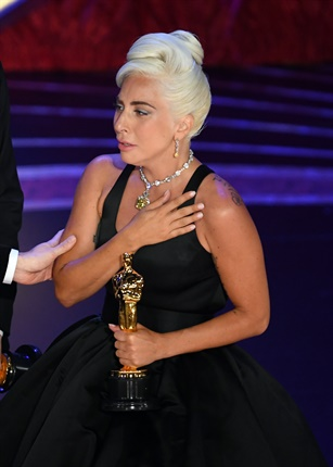 <p><strong>Did you know?</strong></p><p>Lady Gaga is the first person ever to be nominated for both Best Actress and Best Song in the same year.</p><p></p>