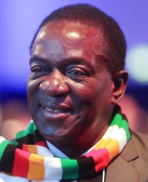 Emmerson Mnangagwa (File: AP)