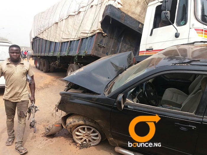 Two injured in oshodi accident